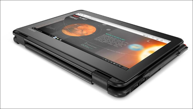 Lenovo N24 タブレットモード