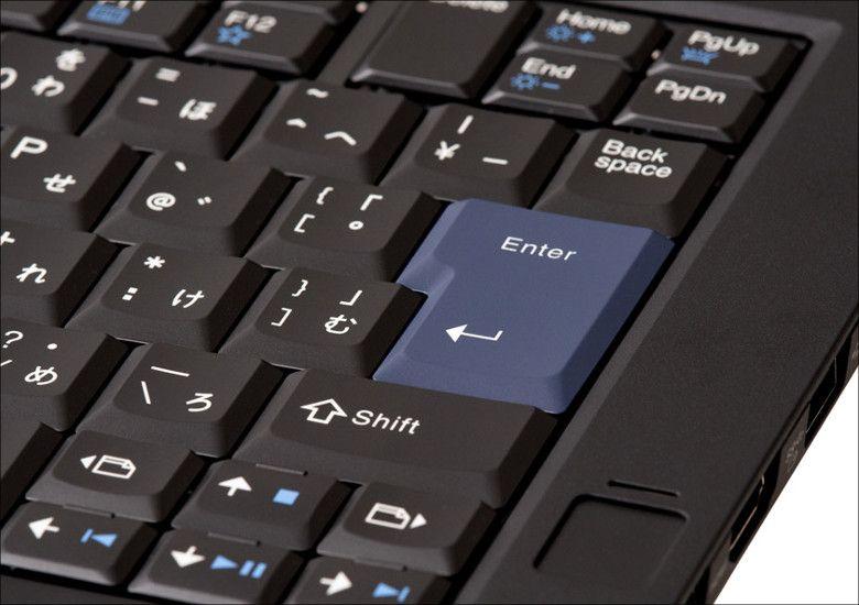 Lenovo ThinkPad 25 キーボード拡大