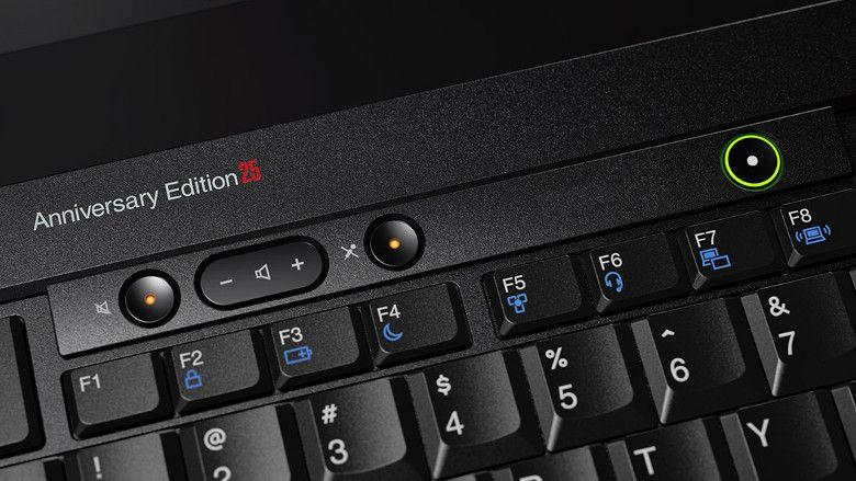 Lenovo ThinkPad 25 刻印