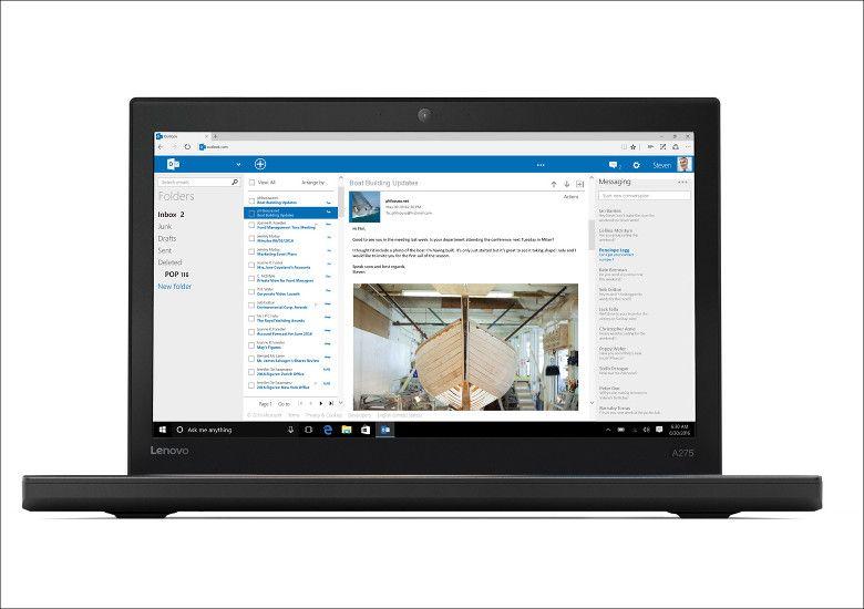 Lenovo ThinkPad A275 正面