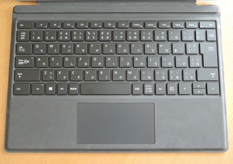 Microsoft Surface Pro(2017) キーボード