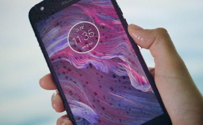 Motorola Moto X4 防水