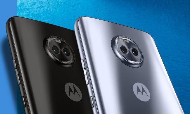 Motorola Moto X4 背面アップ