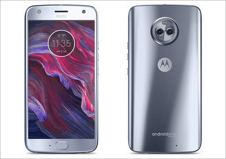 Motorola Moto X4 スティーリングブルー