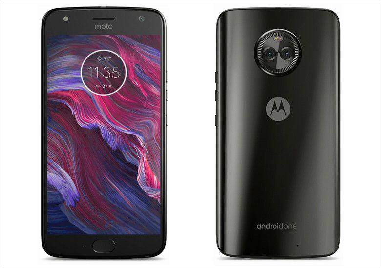 Motorola Moto X4 スーパーブラック