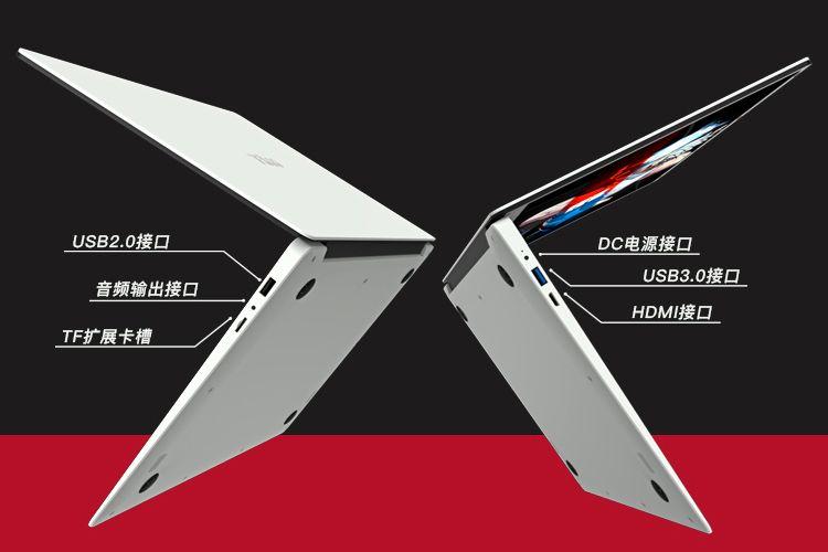 T-bao TBook X8S ポート類