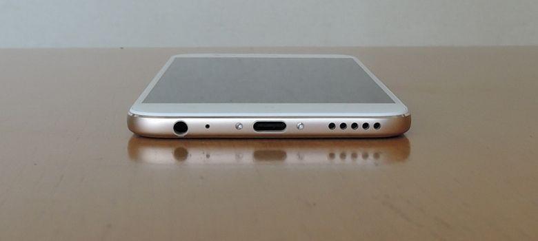 Xiaomi Mi A1 底面