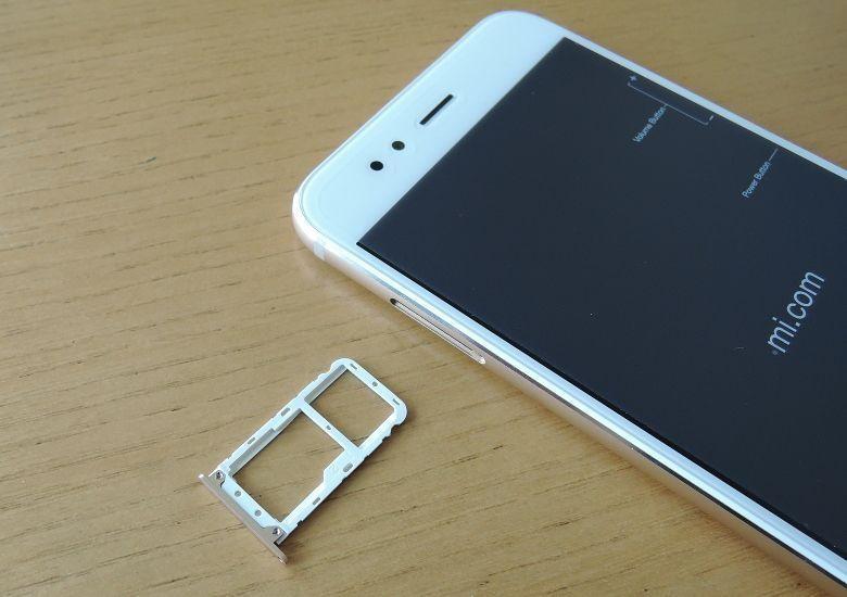 Xiaomi Mi A1 SIMスロット