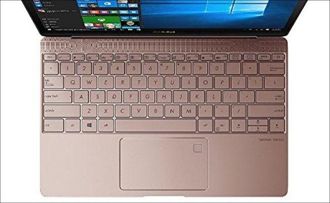 ASUS ZenBook3 UX390UA-GS074T キーボード