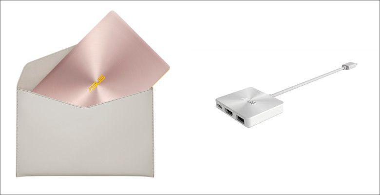 ASUS ZenBook3 UX390UA-GS074T 同梱物