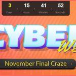 セール情報 - Banggoodの「CYBER WEEK」で最新スマホも在庫処分タブレットも安いよ!