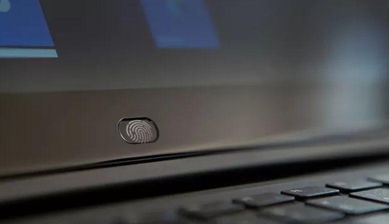 CHUWI CoreBook 指紋センサー