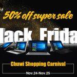 セール情報 - CHUWI、ブラックフライデーでクラウドファンディング出品中の最新モデルまで安くしてます!