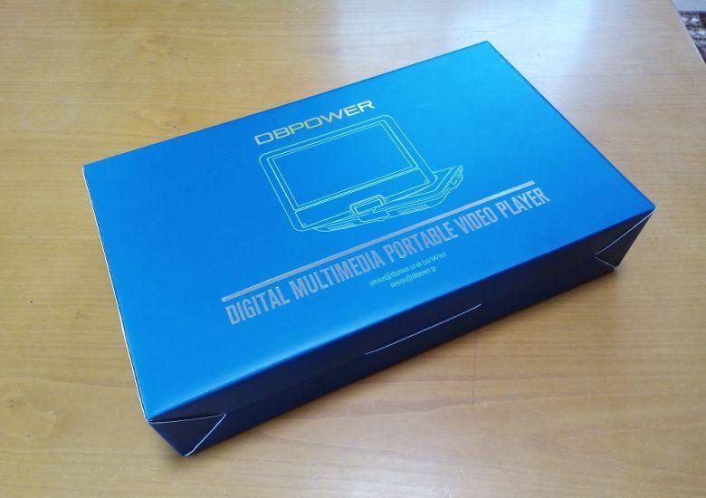 DBPOWER 子供用 9型 ポータブルDVDプレーヤー 外箱