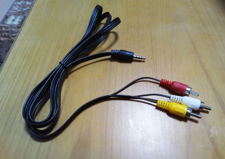 DBPOWER 子供用 9型 ポータブルDVDプレーヤー ケーブル