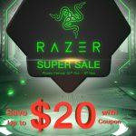 セール情報 - geekbuyingでRazerの周辺機器セール開催中!安く買えるキーボードやマウスがあるよ!