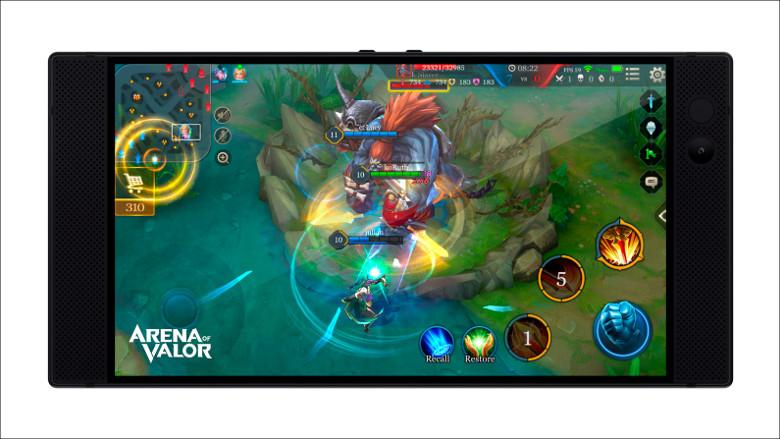 Razer Phone ゲーム画面