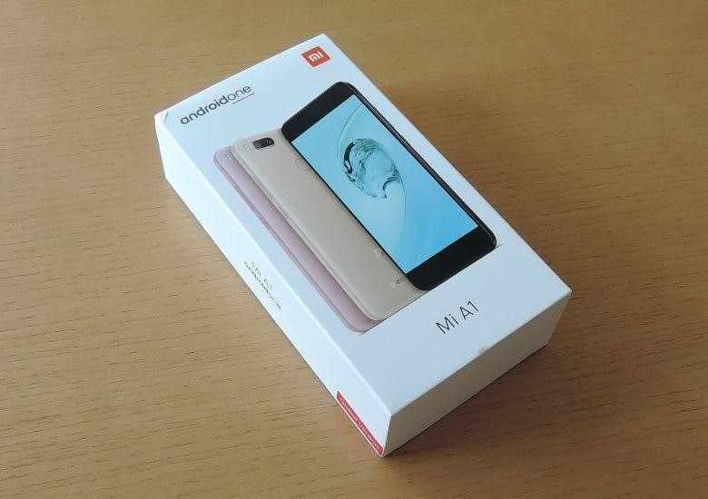 Xiaomi Mi A1 外箱