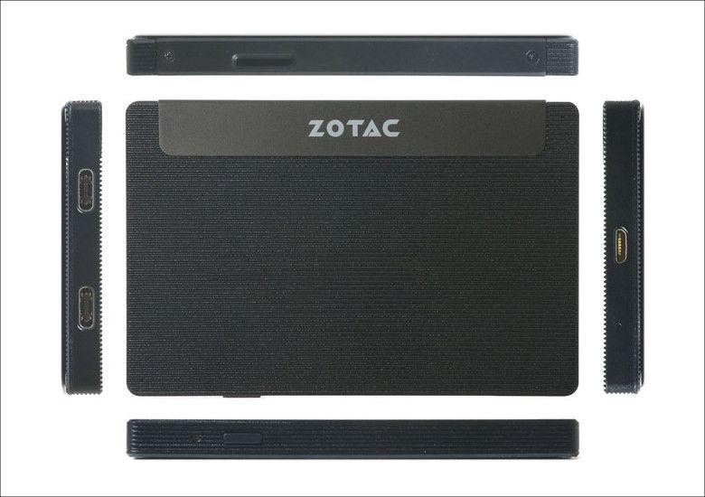 ZOTAC ZBOX PI225 各部名称
