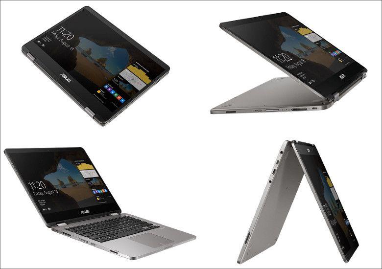 ASUS VivoBook Flip 14 変形