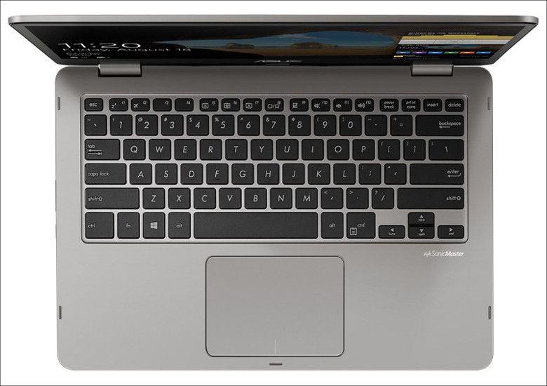 ASUS VivoBook Flip 14 キーボード