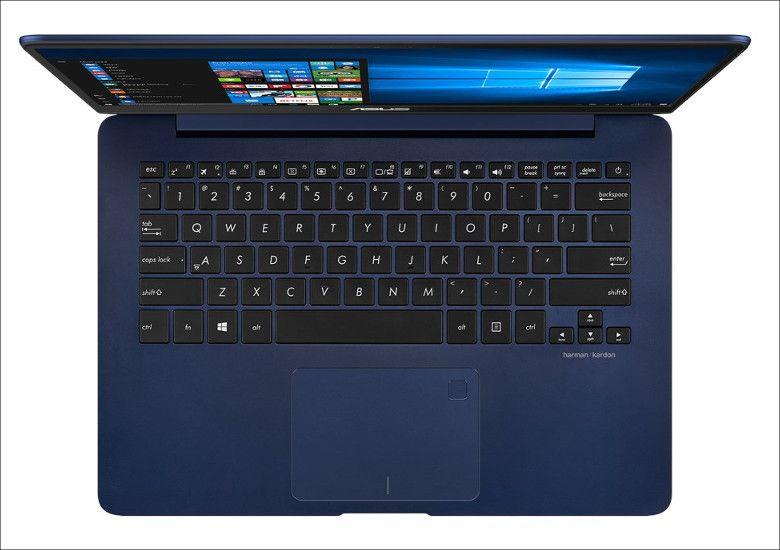ASUS ZenBook 14 UX430UA キーボード