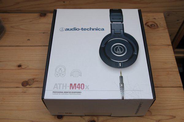 audio-technica ATH-M40x 外箱