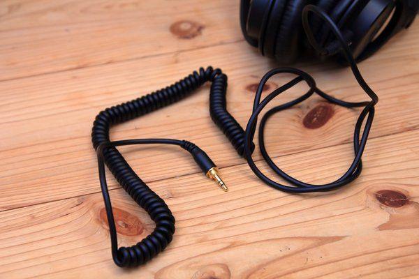 audio-technica ATH-M40x カールケーブル