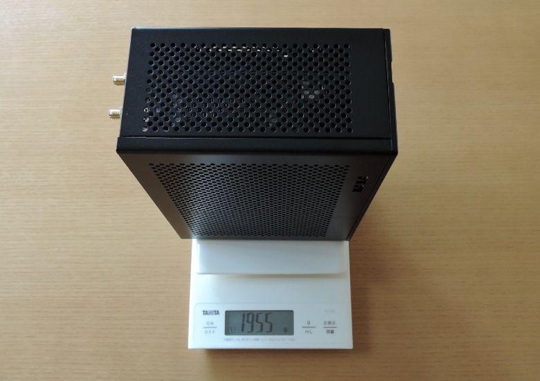 ドスパラ GALLERIA Mini 1060 本体重量