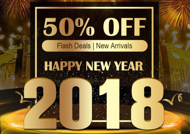 geekbuying Happy New Year 2018セール