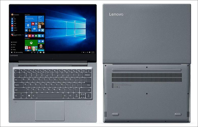 Lenovo V720 見開き