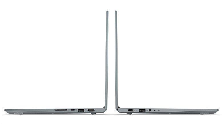 Lenovo V720 側面
