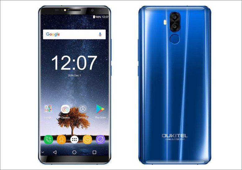 Oukitel K6 ブルー