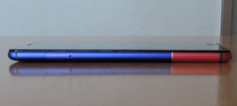 Ulefone T1 Premium 左側面