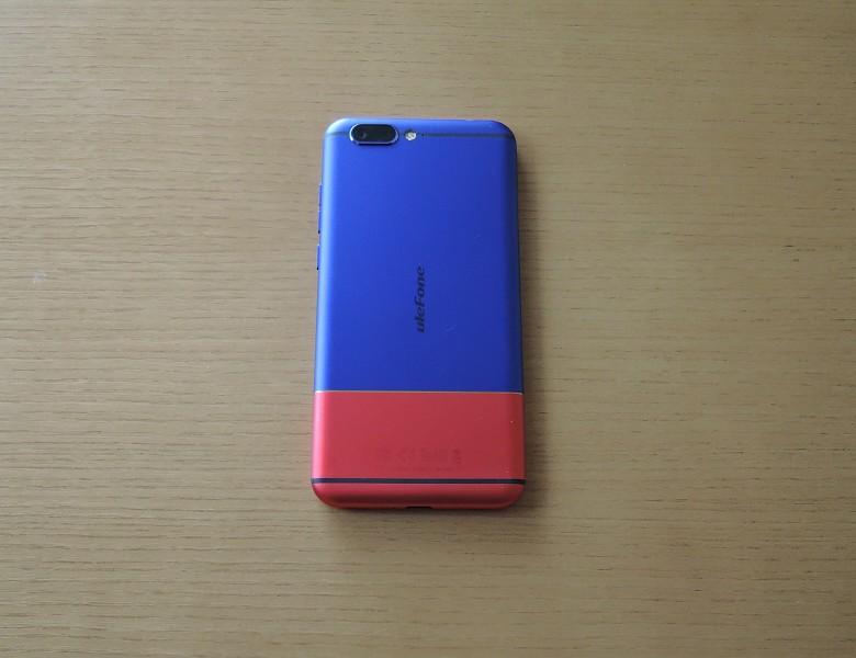 Ulefone T1 Premium 背面