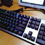 Arealer Roarer 104キー 青軸メカニカルキーボードの実機レビュー - 骨で感じる打鍵感、無骨で堅実な造りのメカニカルキーボード(natsuki)