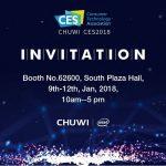 CHUWIがCES 2018に出展!注目は「Surbook Pro」と「Hi 9 Air」!?