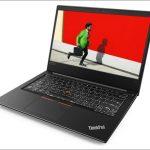 Lenovo ThinkPad E480 - 14インチ、モバイルノートとスタンダードノートの中間くらいのサイズ感!