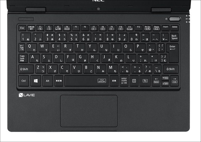 NEC LAVIE Note NM(2018)キーボード