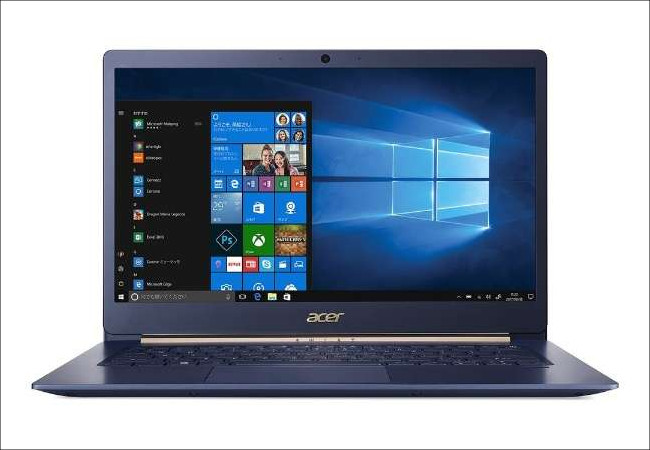 acer Swift 5(2018)正面