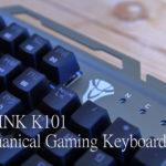 BYLINK K101 Mechanical Gaming Keyboardの実機レビュー - へっぽこゲーマーの救世主!?ギミックが面白いモノホンのゲーミングキーボード!(ふんぼ)