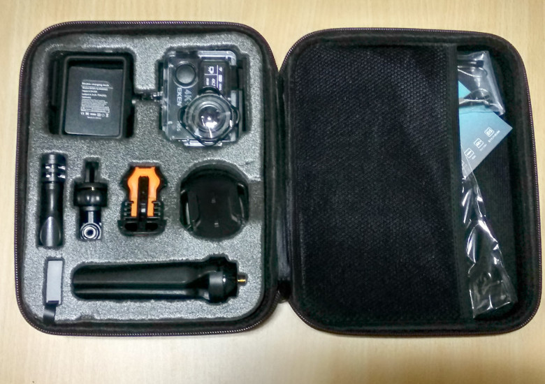 EKEN H6s EIS 4K+ アクションカメラ 保護ケース