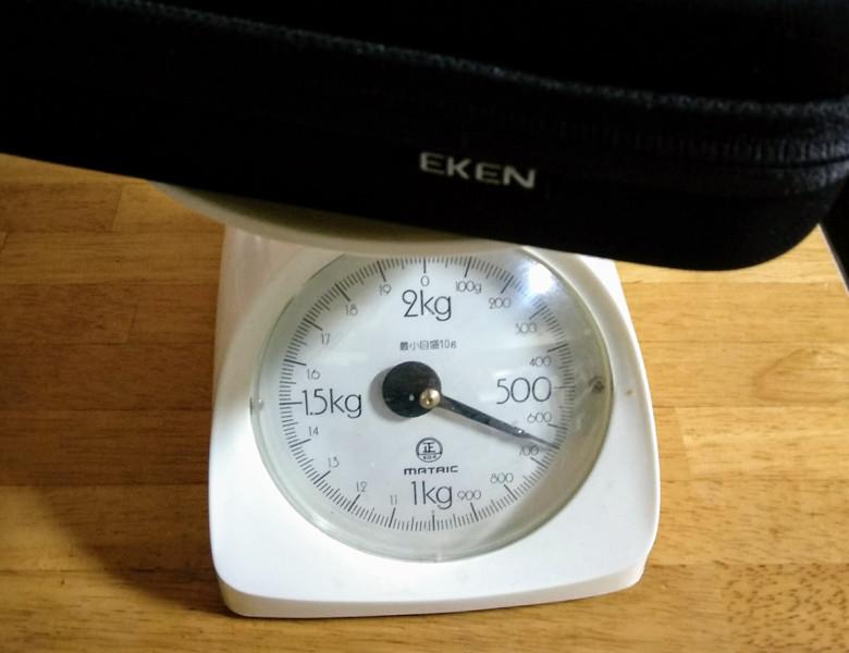 EKEN H6s EIS 4K+ アクションカメラ 総重量