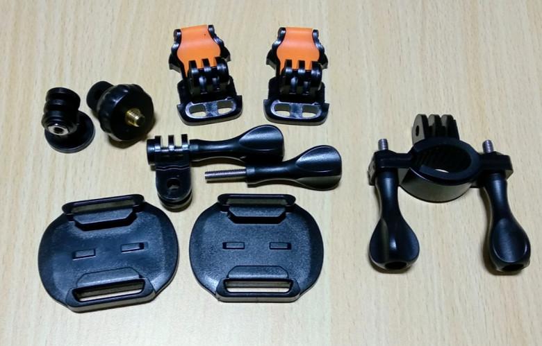 EKEN H6s EIS 4K+ アクションカメラ マウント類