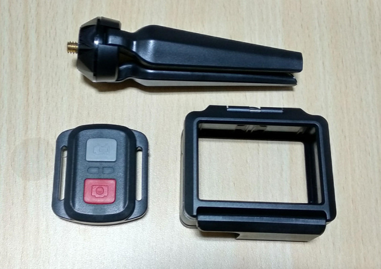 EKEN H6s EIS 4K+ アクションカメラ 三脚など