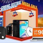 セール情報 - geekbuyingでSpring Festival開催中、スマホ、モバイルPC、ミニPCなど幅広く安くなってます