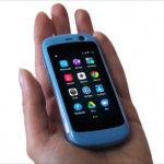 超小型Androidスマホ、Jelly ProがAmazonで販売開始されていたので、つい注文してしまいました!技適マーク取得済みとのこと