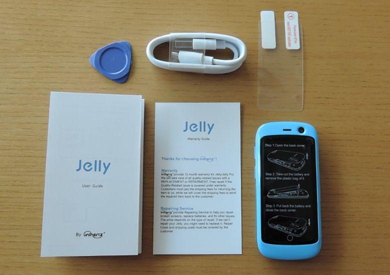 Jelly Pro 同梱物