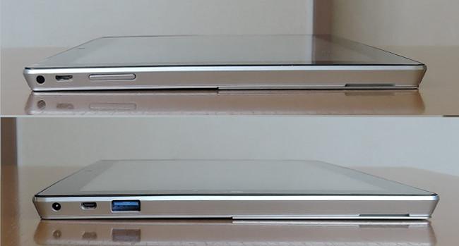 Jumper EZPad 6 Plus 側面