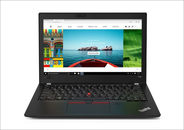 Lenovo ThinkPad X280 正面